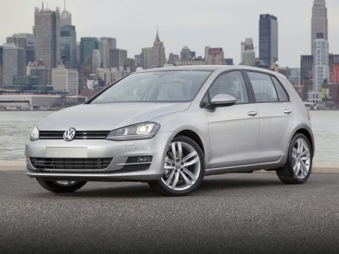 New 2017 Volkswagen Golf Wolfsburg FWD 4D Hatchback